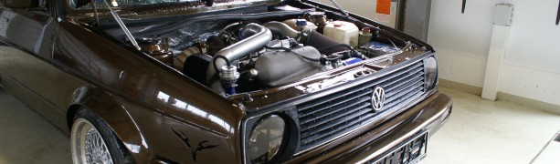 VW Golf 2 1.8T GT28 RS
